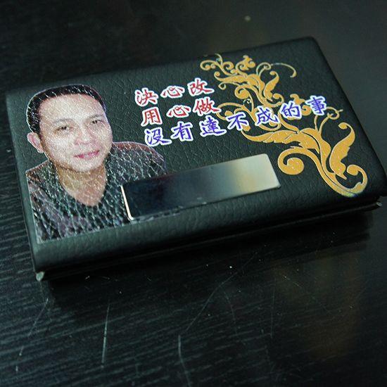 個性專屬胸章 名片盒